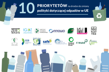 10 priorytetów na drodze do zmiany polityki <p>dotyczącej odpadów w UE